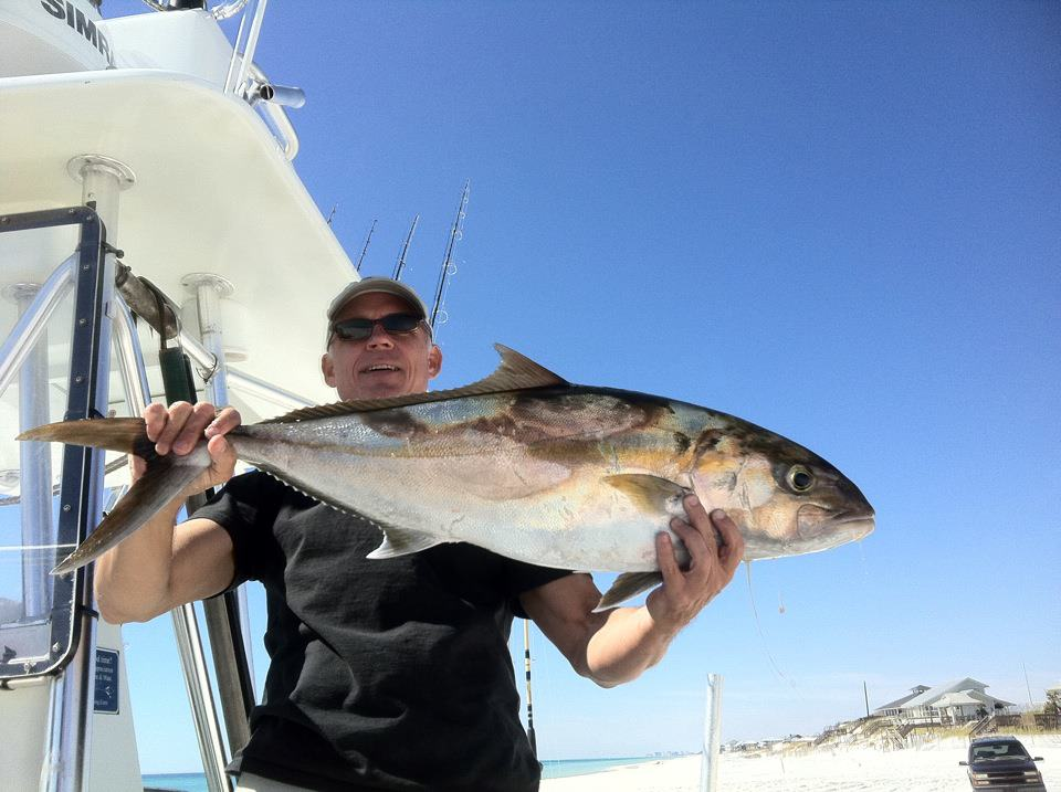 Amberjack Fishing on Grayton beach